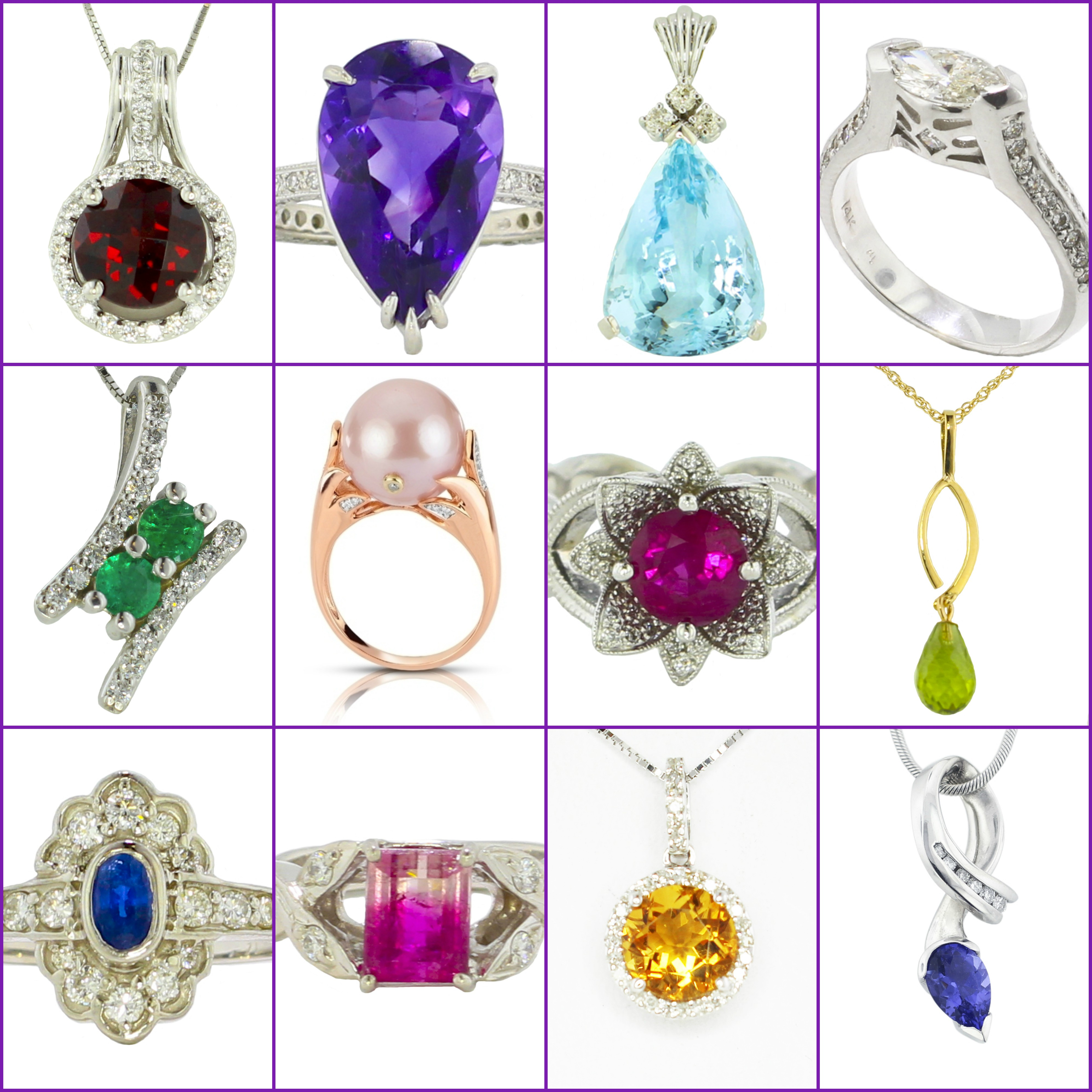 For the Curious Mind: Multiple Birthstones