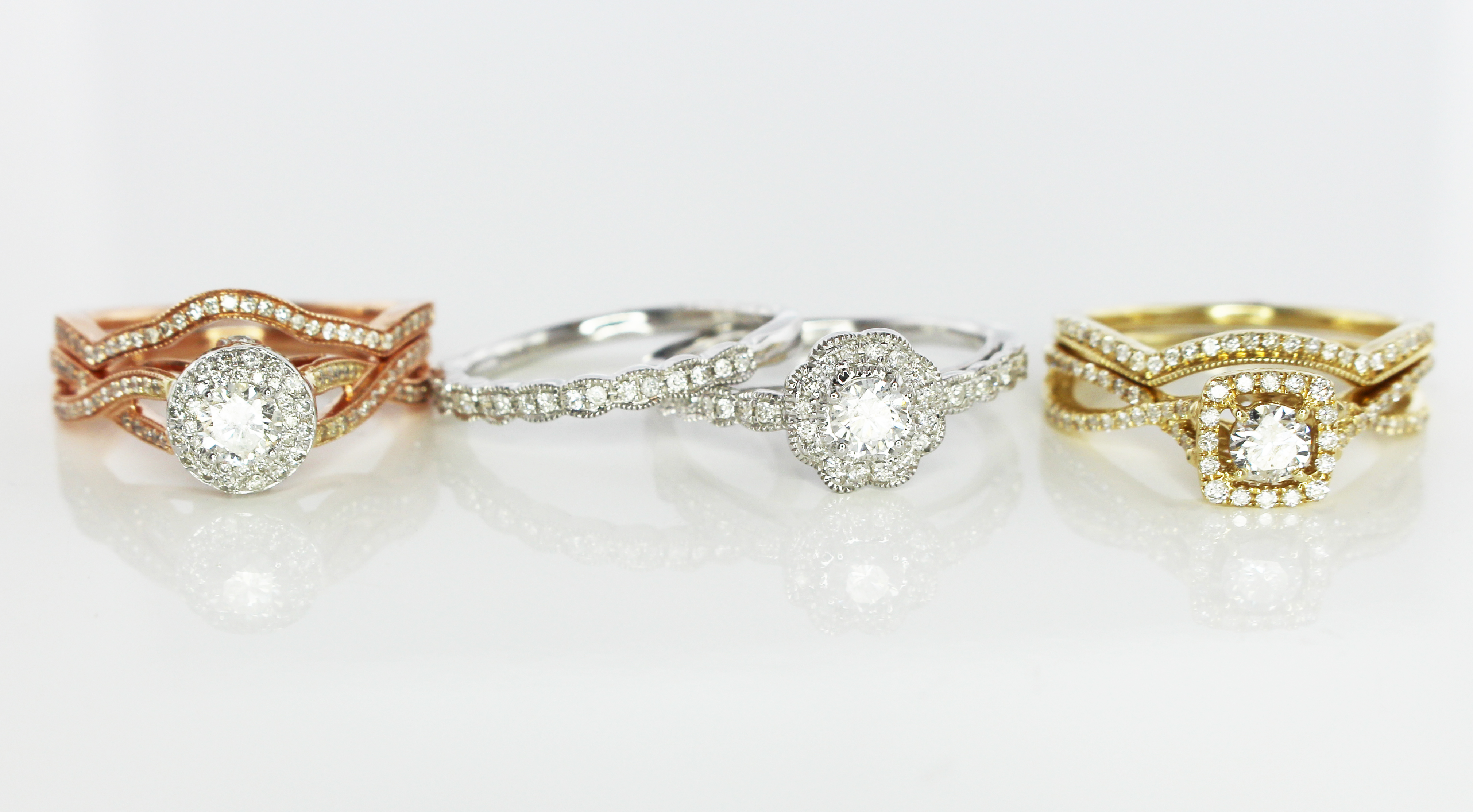 Product Feature of the Month: Complete Bridal Sets Under $2000