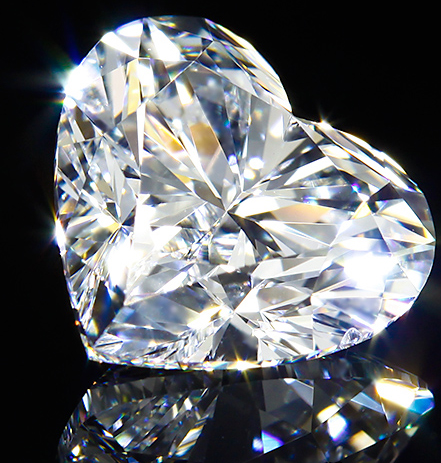The World's Largest Heart-Shaped Diamond