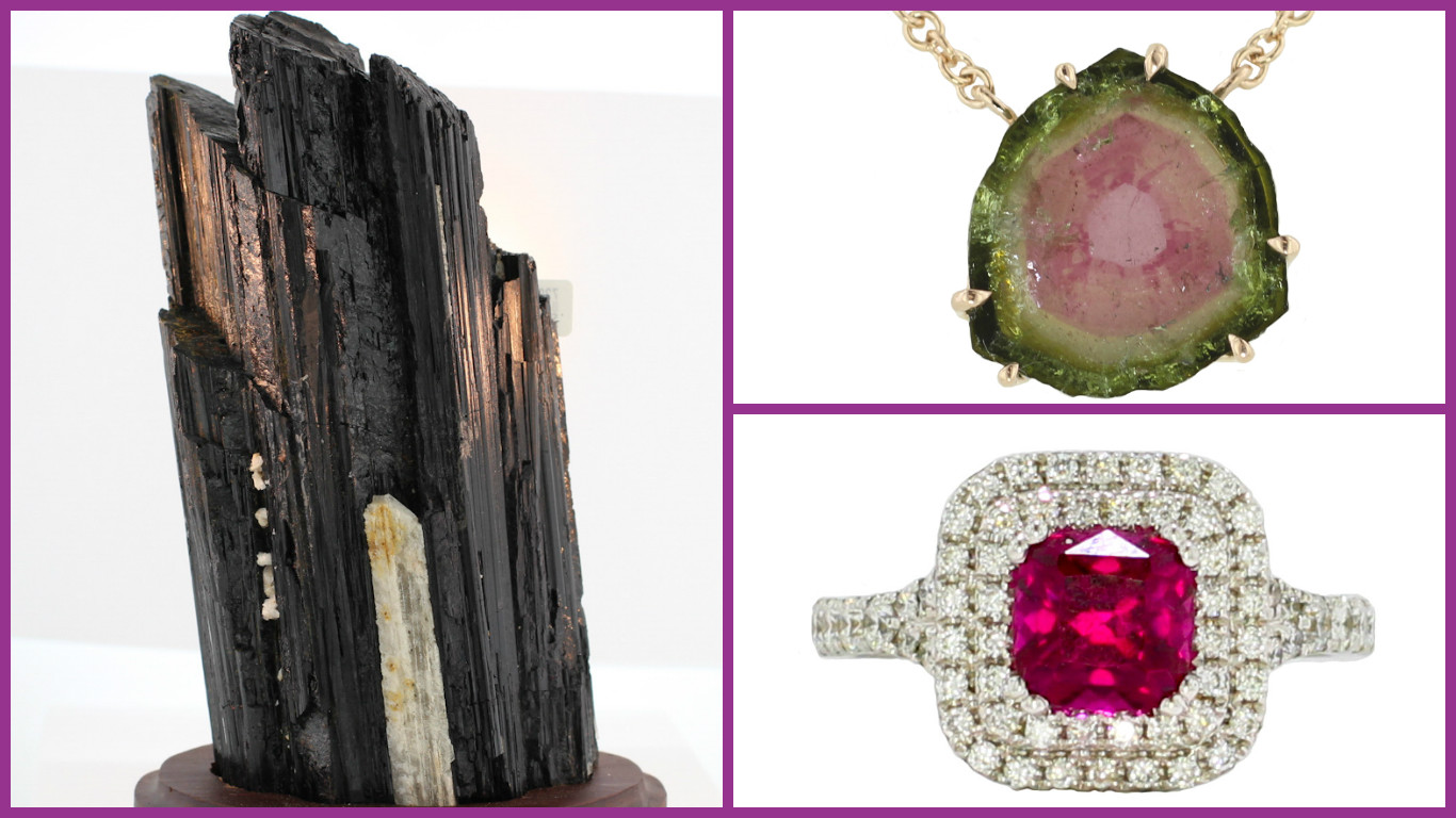 Birthstone of the Month: The Types of Tourmaline
