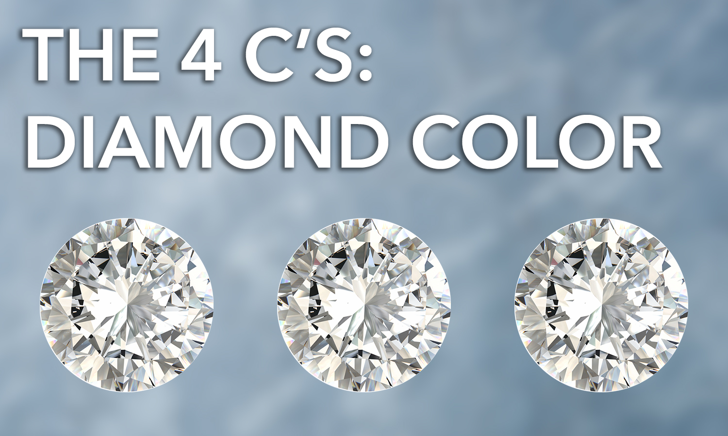The 4 C's: Diamond Color